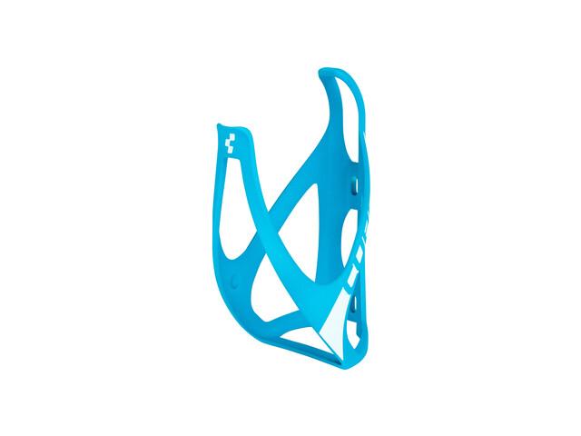 Cube HPP Flaschenhalter matt blau/weiß